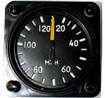 ANEMOMETRO analogico Falcon Gauge 0-140 Km/h - Diam. 57 mm