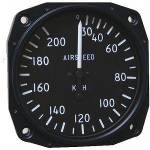 Anemometro analogico Falcon Gauge 0-200 Km/h - diam. 80mm