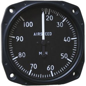 Anemometro analogico Falcon Gauge 20-100 MPH - Diam. 80 mm