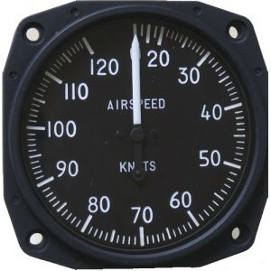 Anemometro analogico Falcon Gauge 20-120 Knots- Diam. 80 mm