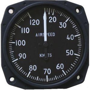 Anemometro analogico Falcon Gauge 20-120 MPH - Diam. 80 mm