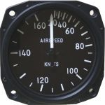 Anemometro analogico Falcon Gauge 20-160 Knots- Diam. 80 mm