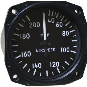Anemometro analogico Falcon Gauge 30-200 MPH - Diam. 80 mm