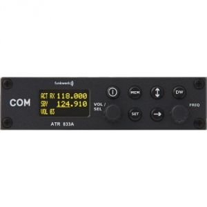 ATR833A VHF Transceiver 8,33kHz, 160mm housing - VOX-operated Intercom, transmitter power 6W