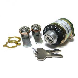 Blocchetto chiave master aeronautico + 2 blocchetti chiave per porte  - A-510-2K