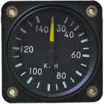 Anemometro analogico Falcon Gauge 20-140 Km/h- Diam. 57 mm