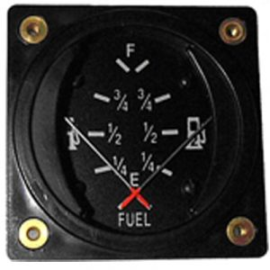 Indicatore livello carburante 2 lancette - Falcon Gauge - Diam. 57 mm