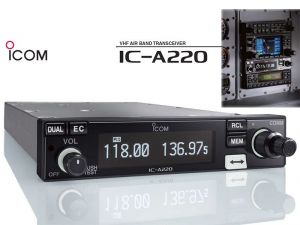 ICOM IC-A220T TSO'd