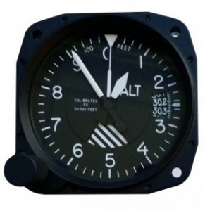 Altimetro united TSO'd 80mm