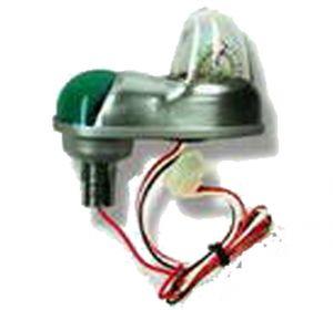Corpo lampada strobo USA con nav Verde (SL6N Plus)