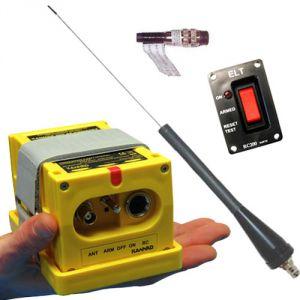 ELT Kannad 406 AF-Compact - Kit completo di antenna e comando remoto