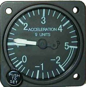 GIMETRE Falcon Gauge Diam. 80 mm -2+5g