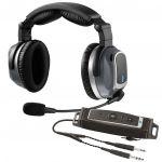 Lightspeed ZULU PFX - Cuffia aeronautica - ANR/music//Bluetooth - Lemo Plug