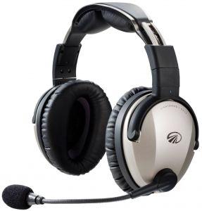 Lightspeed ZULU3  - Cuffia aeronautica - ANR/music//Bluetooth - connettore doppio jack - cavo liscio