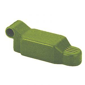 Microfono elettrete aeron. amplif. braccetto metallo - colore verde