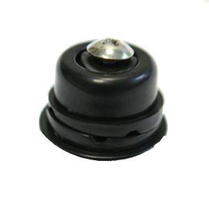 Notolino nero per braccetto metallo