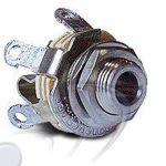 Presa mic.5,2mm da pannello - per PJ-068