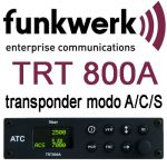 TRT800A-OLED Transponder Mode A/C/S, class 1, 161mm housing, OLED display