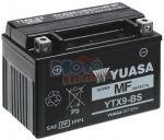 BATTERIA YUASA YTX9-BS 12 V 8 AH PER TRIUMPH STREET TRIPLE R 675 2008/2015