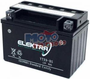 BATTERIA ELEKTRA YTX9-BS PER HONDA CBR F (M/N/P) (PC25) 600 1991-1994 12V 8 Ah CON ACIDO