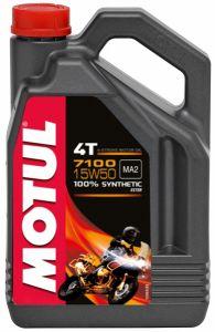 Olio sintetico 7100 4T SAE 15W-50 4 Litri
