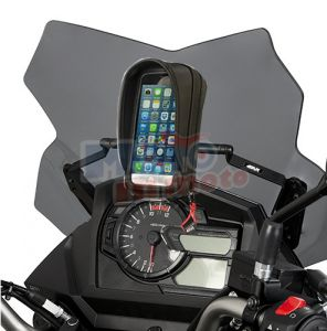 Traversino Givi con portasmartphone S955B Suzuki V-Strom DL 650 2017