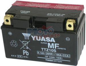 BATTERIA YUASA TTZ10S-BS EX YTZ10S PER HONDA HORNET 600 ANNO 2007-2008-2009-2010