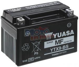BATTERIA YUASA YTX9-BS 12 V 8 AH PER MALAGUTI CENTRO IE 160 2007/2010