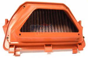 Filtro aria lavabile e rigenerabile completo con Air Flow Restrictor