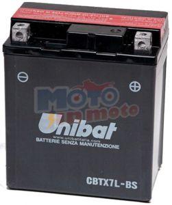 Battery CBTX7L-BS - YTX7L-BS 12V 8.6 Ah