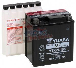 Batteria Yuasa YTX7L-BS Suzuki Sixteen 125 2011 2012 2013 2014