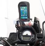 Traversino Givi con portasmartphone S956 Kawasaki Versys 650