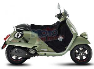 TERMOSCUD COPRIGAMBE TUCANO URBANO PIAGGIO VESPA GTV 250 2009 IMPERMEABILE ANTIVENTO