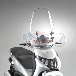 Windshield with fitting kit included
