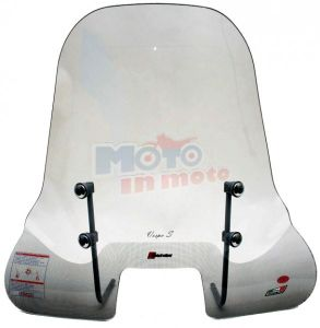Windshield senza bordo with fitting kit included