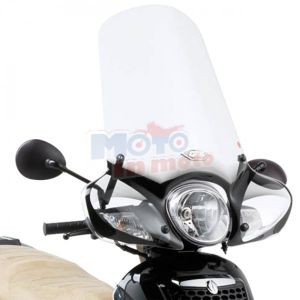 Windshield without fitting kit with paramani