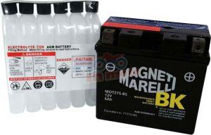 Batteria MOTZ7S-BS 12V 6Ah con acido a corredo