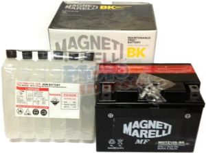 Batteria MOTZ12S-BS 12V 11Ah con acido a corredo