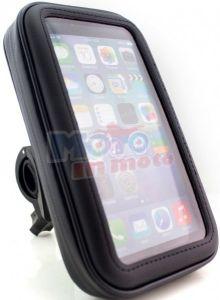 Custodia COVER con attacco tubolare Smartphone I-phone 6 o similari 5.5 pollici