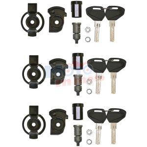 Kit unificazione chiavi security lock per 3 valigie