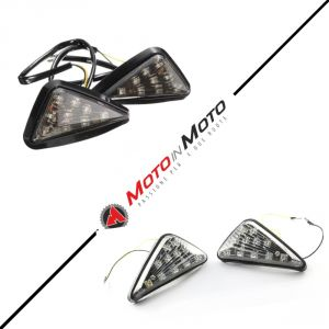 Motorcycle Triangle Flush Mount Turn Signal Light