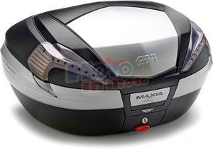 Valigia V56NT Maxia 4 catadiottri fumè e finitura in alluminio