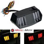 Stop a led con frecce integrate Honda CBR650F  Grom MSX125 CTX700