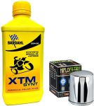 Kit tagliando Bardahl XTM 20W50 filtro olio Harley Davidson Sportster - Softail