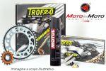 Kit trasmissione TROFEO con Grasso Motul C2 per Honda NX 650 Dominator '97-'02