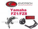 Kit Portatarga Yamaha FZ1/FAZER/NAKED '06-'16 FZ8 '10-'16