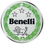 Adesivo tondo resinato Benelli da 5cm