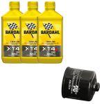 Kit Tagliando 3Litri  Bardahl XT4-S con filtro olio KN204