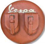 Copriruota Vespa con doppia tasca centrale