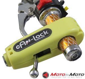 Caps-lock antifurto da manubrio Moto Scooter Quad e ATV